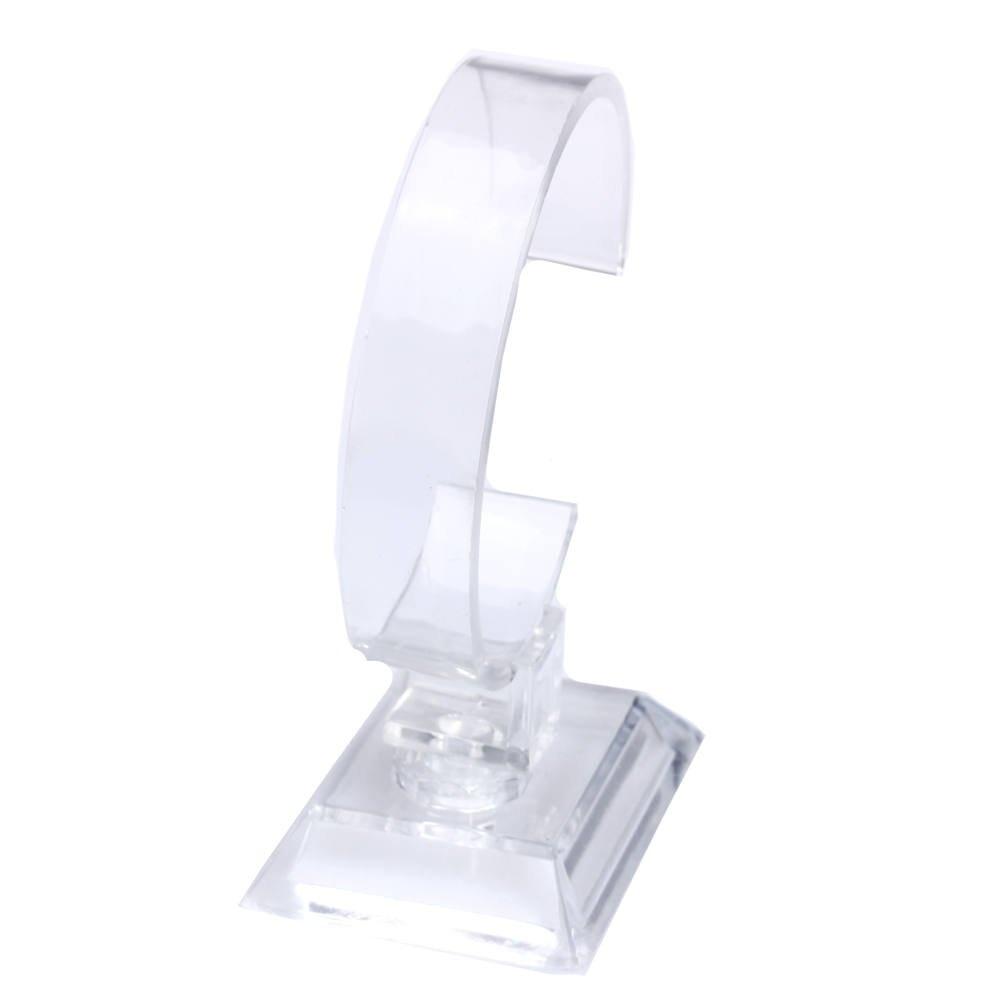 6PCS Plastic Jewelry Bangle Cuff Bracelet Watch Display Stand Holder подставка для париков neitsi 6pcs plastic