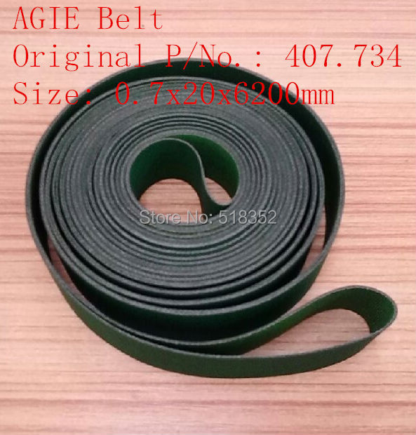 AGIE Belt 407.734 EDM Belt Agie parts 20x6200mm  Wire EDM Machine Spare Parts игрушка welly модель винтажной машины 124 chevrolet corvette 1957 29393c
