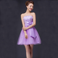 Wholesale Fashion Wedding Elegant Bow Short Bra Top Bow Off The Shoulder New Summer Dress CX00