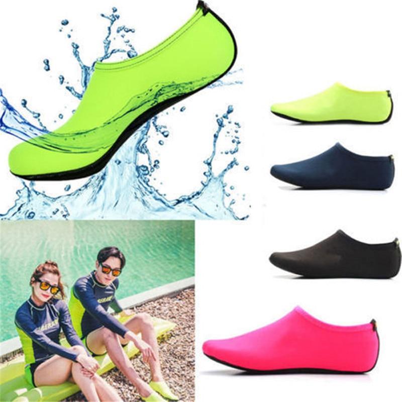 Women Men Water Shoes Aqua Socks Diving Socks Wetsuit Non-slip Swim Beach Shoes Outdoor Neoprene Bottom Swimming Diving Socks
