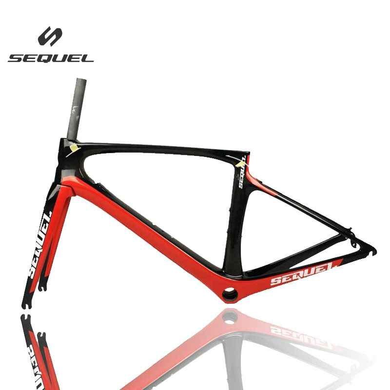 SEQUEL Carbon Bike Frame T1000 Di2 PF30/BB30 Bottom Bracket Bicicleta Chinese Carbon Frames For Professional Racing Bike Parts
