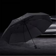 Estilo do carro Totalmente Automático Guarda-chuva Para Mercedes Benz GLA W176 W201 UMA Classe CLK W209 W202 W220 W204 W203 W210 w124 W211 W222 X204