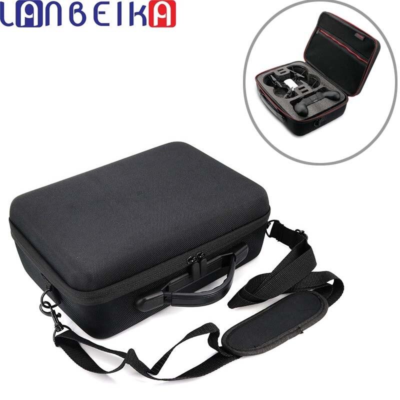 LANBEIKA Pour DJI Tello Portable Sac EVA Rigide de Transport Housse pour DJI Tello Drone Contrôleur Batterie Câble Boîte de Sac À Main