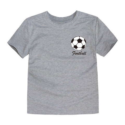 2018 Summer Brand New Football Team Clothing Children Tops Boys T Shirts Kids Tees for 1-14 Years Football Boys Tees Islamabad
