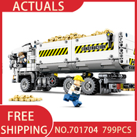 Technic Truck Model 701704 Legoing Technik Figures Building Blocks Bricks Diy Toys Compatible with Lepining Toy Gift for Kids