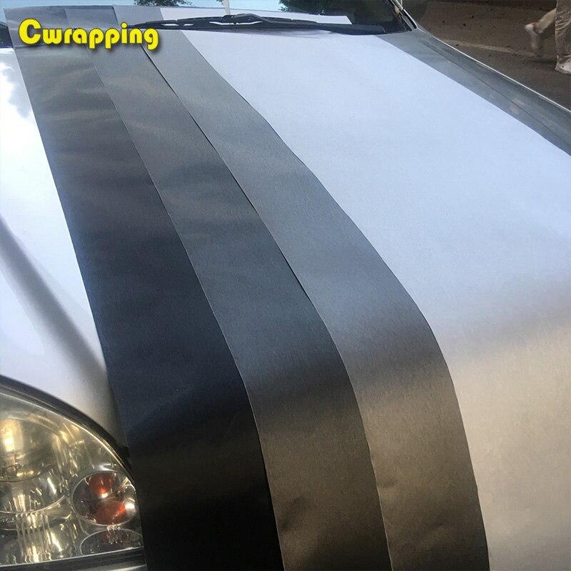 lowest price 50cm 1 2 3 4 5m Car Styling Matt Brushed Aluminum Car Wrap Vinyl Film Sheet  Motorcycle Automobiles Car Stickers Decal
