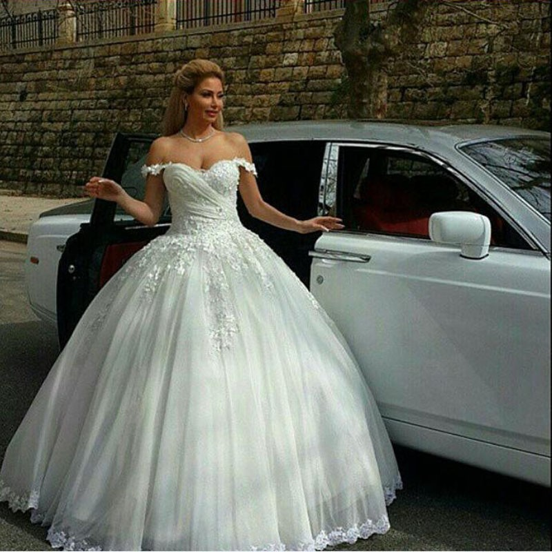 Medieval Ball Gown Spaghetti Straps Wedding Dress Tull With ...