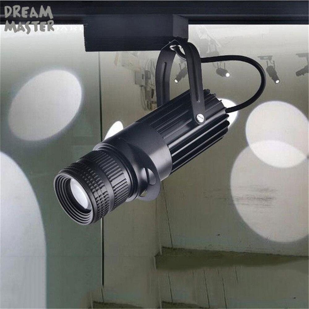 Scena teatralna Zoom reflektory, punktowe reflektory led, powiększanie projekcji regulacja ostrości lampki ozdobne, przemysłowe Logo lampa oświetleniowa
