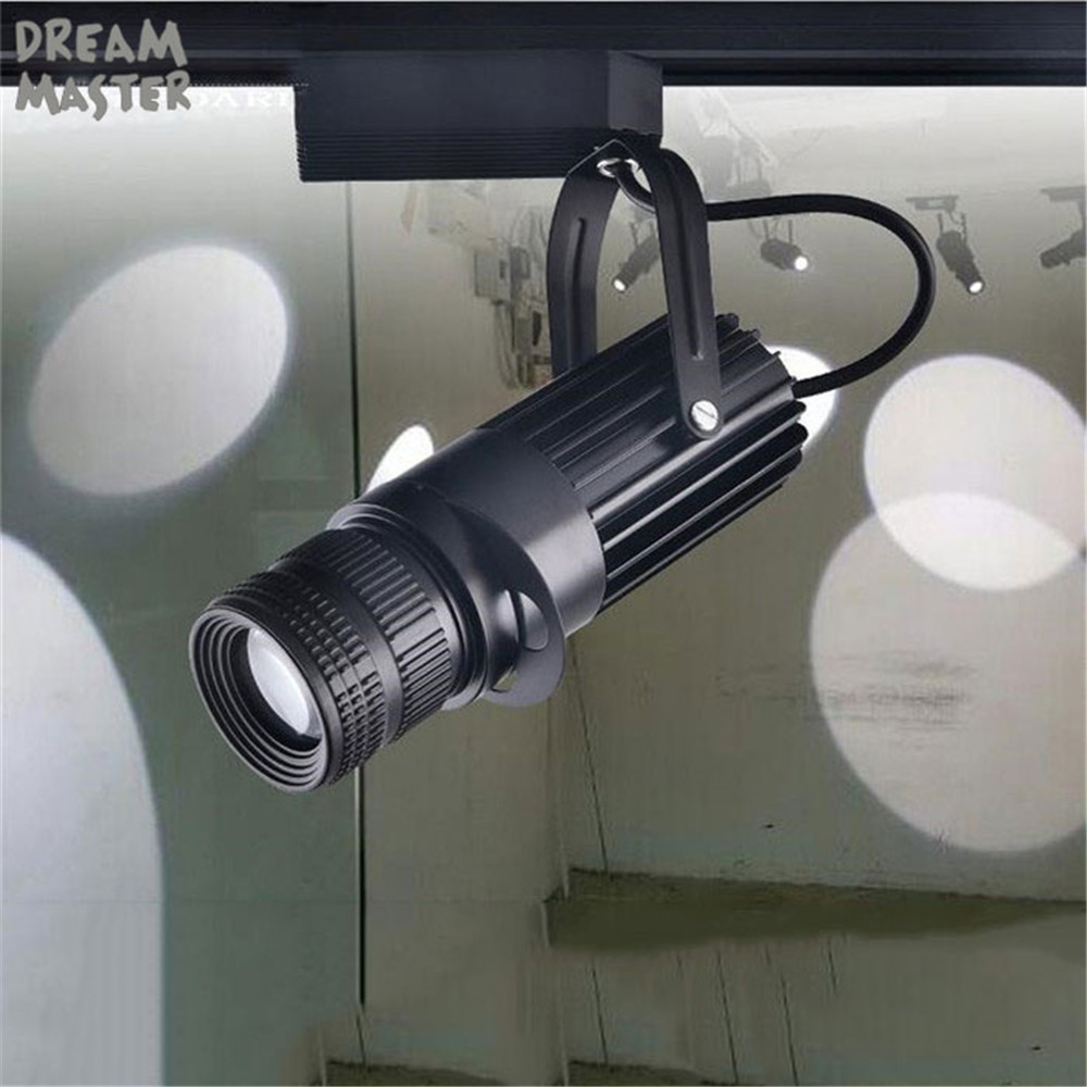 Theater Stage Zoom Spotlights, Led Spotlights,projection Zoom In Out Adjustable Focus Track Lights,Industrial Logo Lighting Lamp