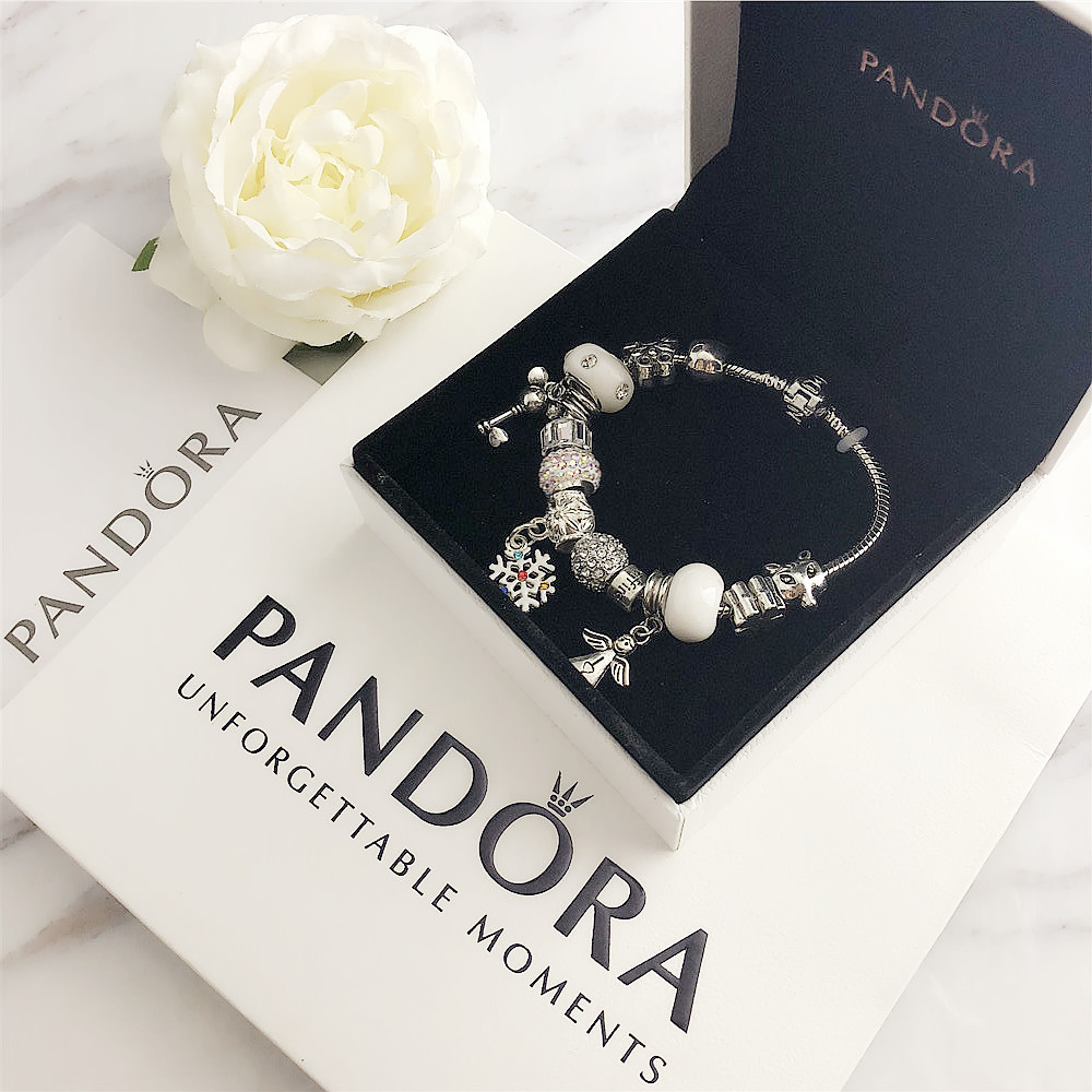 Women pandora bracelet charms silver 925 original pandora watch Luxury Ladies Watches Classic Acrylic Blue Beaded BraceletsWomen pandora bracelet charms silver 925 original pandora watch Luxury Ladies Watches Classic Acrylic Blue Beaded Bracelets
