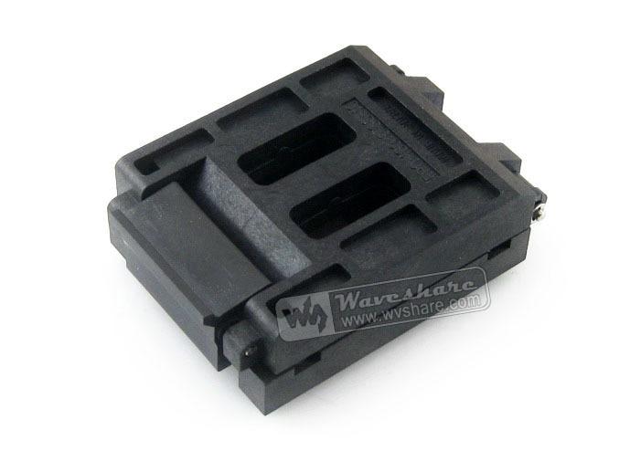 FPQ-160-0.65-10 Enplas IC Burn-in Test Socket Adapter 0.65mm Pitch QFP160 TQFP160 FQFP160 PQFP160 Package Free Shipping crystal probe oscillator test socket burn in socket for 7050 4pin crystal size 7 0x5 0mm xo crystal test socket burn in socket