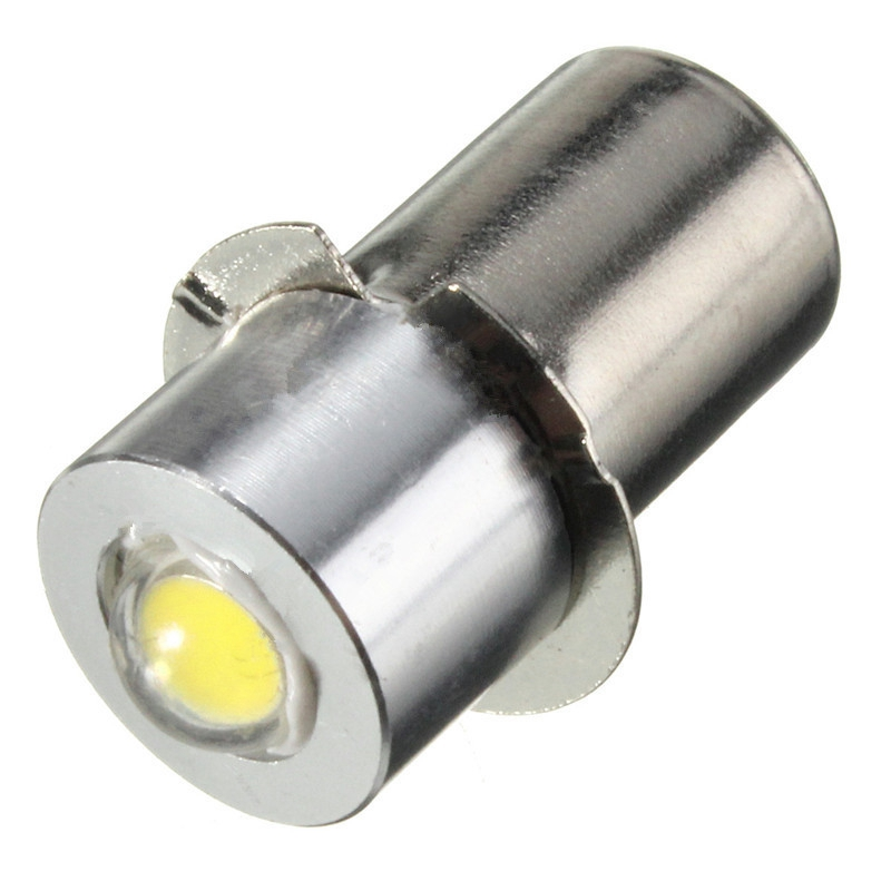 все цены на LED Light Flashlight Bulb For Interior Bike Torch Spot Lamp Bulb High Brightness P13.5S PR2 1W 90Lumen Warm/White DC3-18V/DC18V онлайн