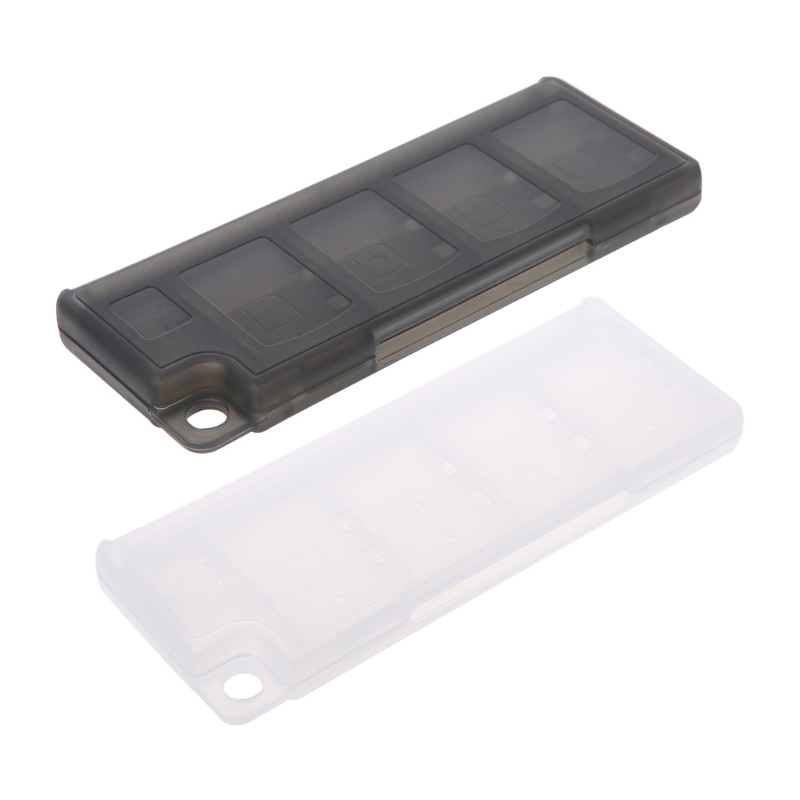 Portable 10 In1 Game Memory Card Storage Case Box Holder For Sony Game Cards