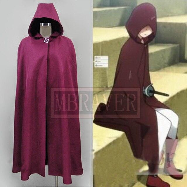 Sword Art Online Asuna Yuuki Purple Halloween Cape Cloak Cosplay Costume