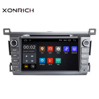 Xonrich автомобильный мультимедийный плеер 2 din Android 8,1 gps DVD для Toyota RAV4 Rav 4 2013 2014 2015 навигации Авторадио Wi Fi OBD2 DAB +