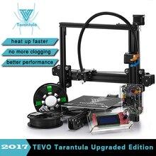 Новинка 2017 года tevo Тарантул I3 3D-принтеры комплект алюминиевого профиля 3D-принтеры комплект RepRap Prusa I3 2 рулона нити и Titan экструдер