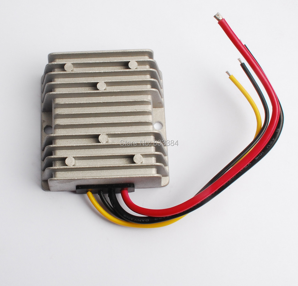 12V(16-32V) to 27V DC DC converter 5A 135W 320G 74cm for electrical engineering 22v 16 32v to 28v dc dc converter 10a 280w 320g 74cm for gps mp3