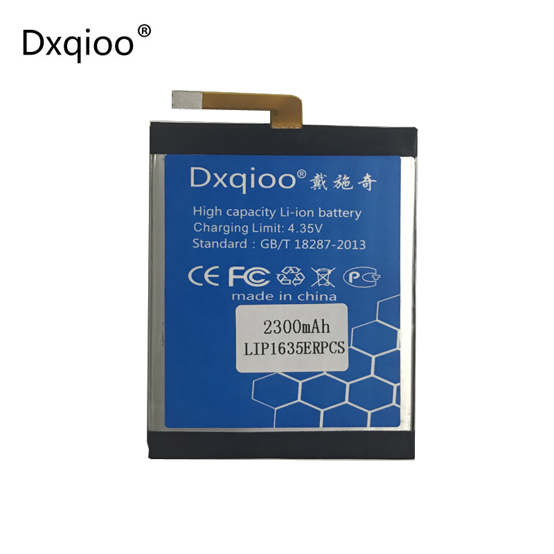 Dxqioo 2300mah XA 1 <font><b>battery</b></font> for sony <font><b>Xperia</b></font> <font><b>XA1</b></font> G3125 G3123 G3112 G3121 G3116 <font><b>batteries</b></font> image