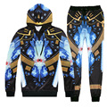 Emoji Facial Face Devil Diamond Sapphire Print Couple Sweatshirts Suit Hoodies Cool Joggers Pants Sweat Tops Trousers Outerwear