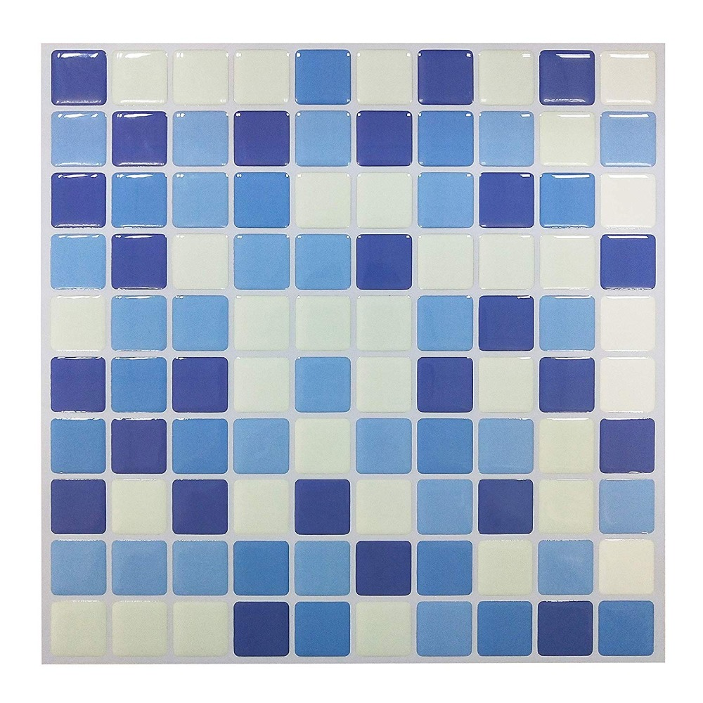 Tapety W Rolkach 23x23 Cm Winylu Mozaika łazienka Płytki