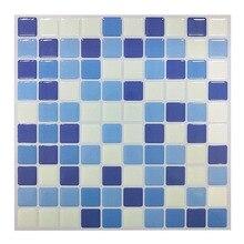 Free Shipping Designer Most Popular  23x23cm vinly Mosaic Wall Tile Wallsticker