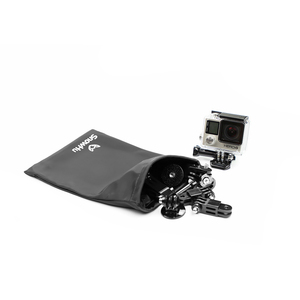Image 4 - SnowHu Bolsa de almacenamiento protectora 5 en 1 para GoPro Hero 9, 8, 7, 6, para xiaomi, Yi, eken, accesorios para cámara, GP52