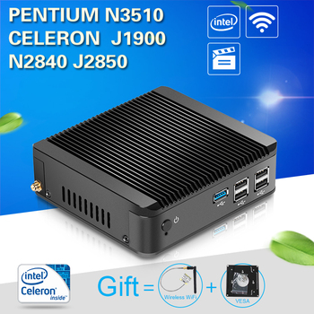 XCY mini pc desktop computer office mini computer Celeron J1850 J1900 N2930 N2840 N2940 CPU htpc tv box gaming pc thin client