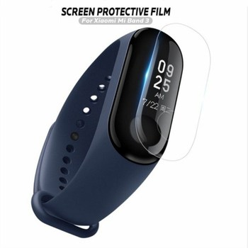 100Pcs Soft Screen Protector Film for Xiaomi Mi Band 3 Mi Band 4 Bracelet Ultra Thin Anti-scratch Film for miband 3 miband 4