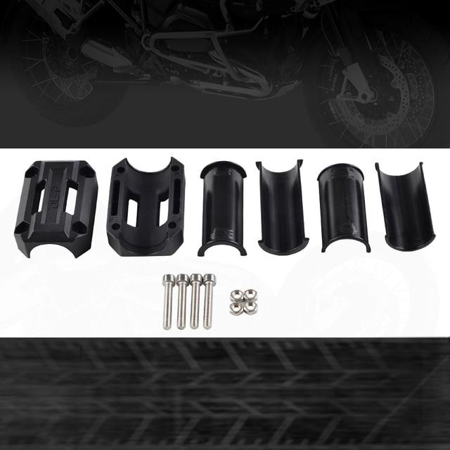 Pare-choc de Protection pour moteur | 22/25/28mm, bloc de Protection pour décoration pour BMW G650GS F700GS F800GS R1100GS R1150GS R1200GS Adventure HP2