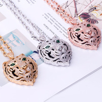 Pendant Chain Punk Personalized Necklace Choker Necklaces Boyfriend Gift Copper Collares De Moda 2019