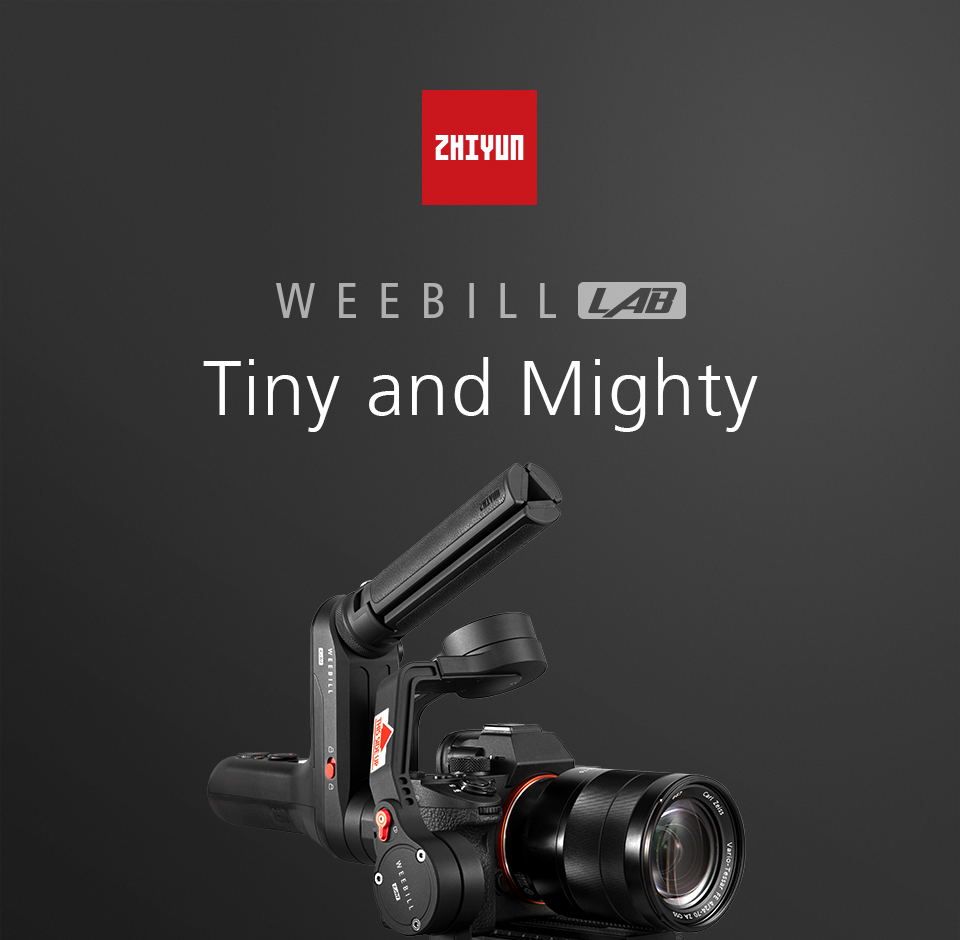 Zhiyun WEEBILL LAB 3-Axis OLED Display Stabilizer For Sony Panasonic GH5s Mirrorless Camera Handheld Gimbal With Focus Control 1
