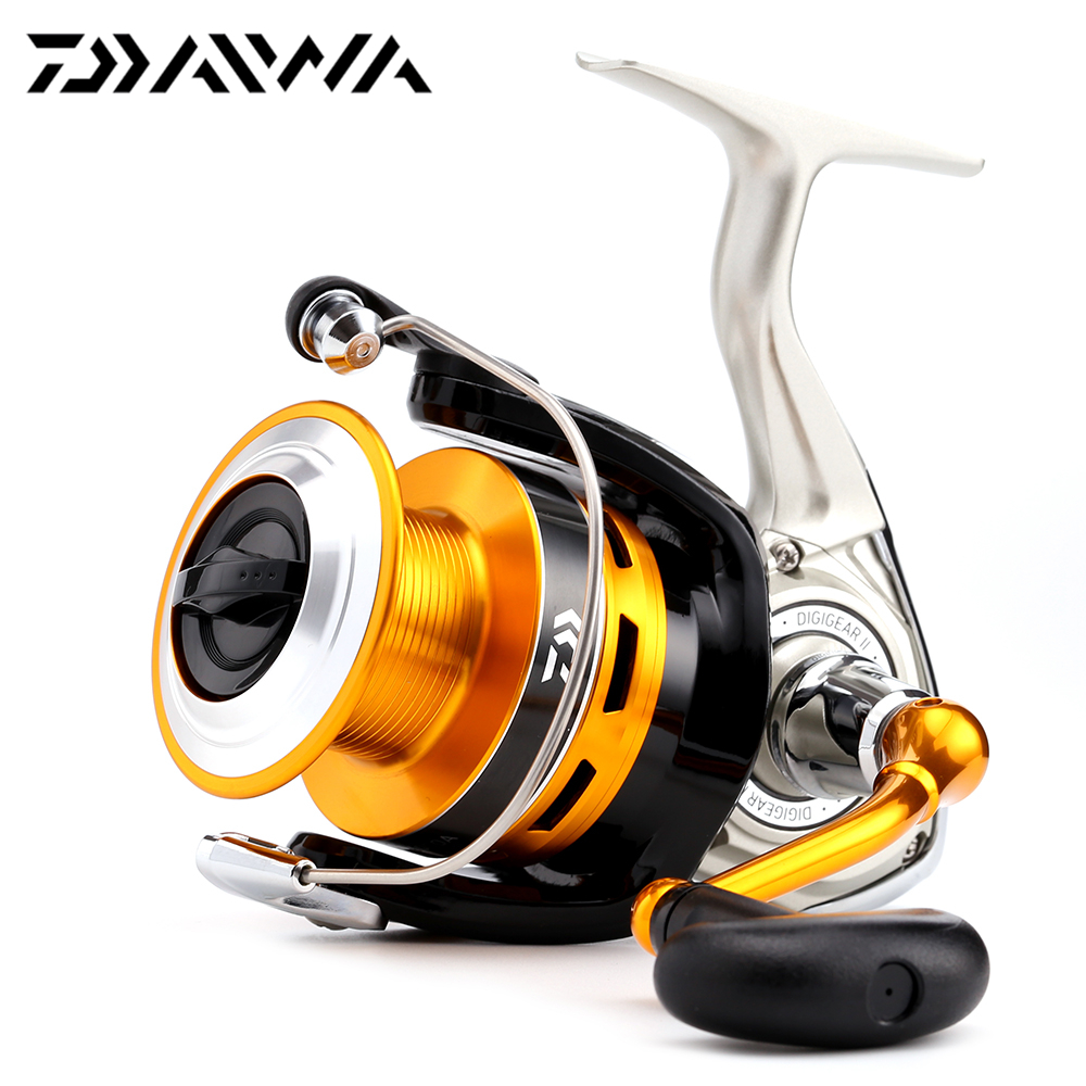 100% Original Daiwa 16 New CREST 2000A 2500A 3000A 4000A Spinning Fishing Reel 5.3:1 3+1BB Front Drag Japanese version Reel go-kart