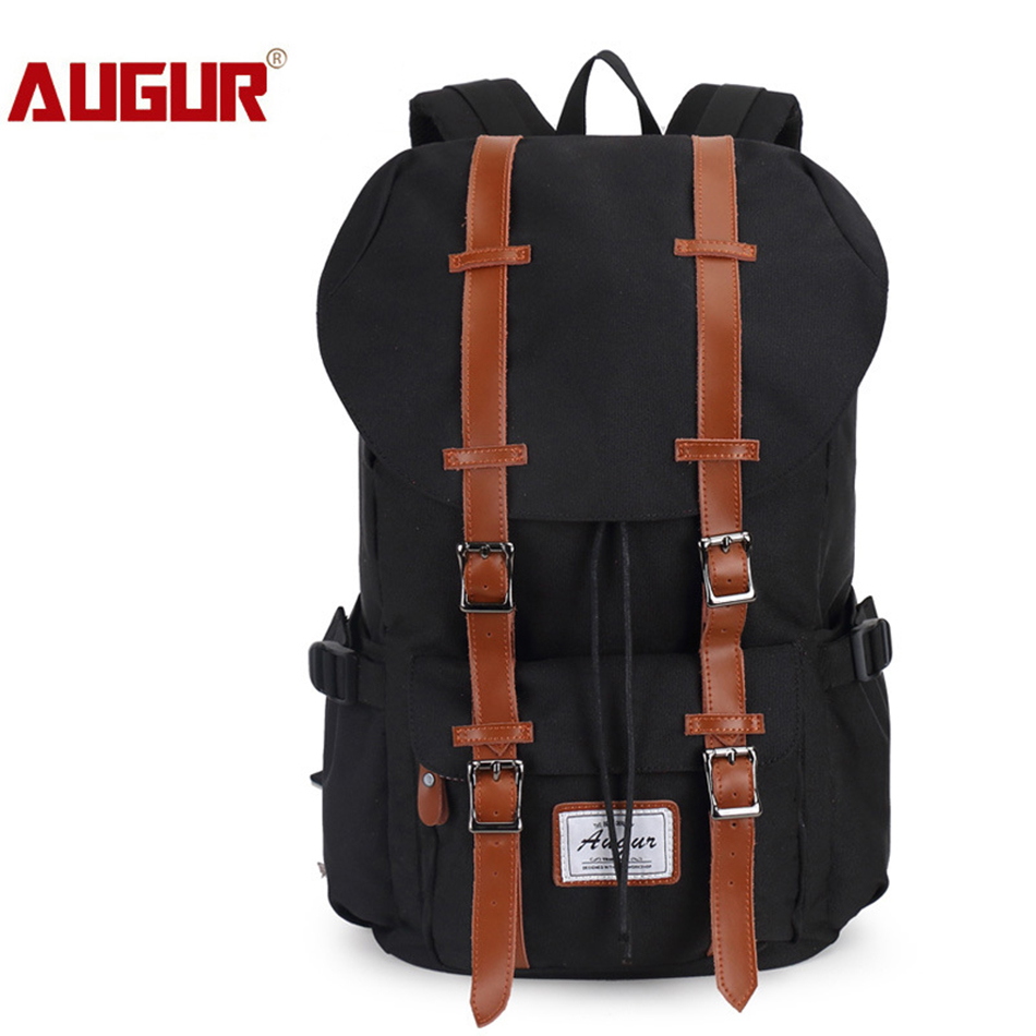 AUGUR Men Backpack Nylon Large Capacity for Travel School Shoulder Computer Backpacking Versatile Laptop Bag Teenager Women Male augur 2018 brand men backpack waterproof 15inch laptop back teenage college dayback larger capacity travel bag pack for male