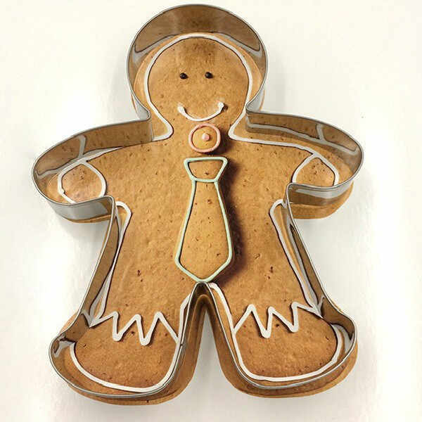 Christmas Cake Tools Alloy Gingerbread Men Cake decorating tools biscuit Kitchen fondant Kitchen Accessories Cake mold