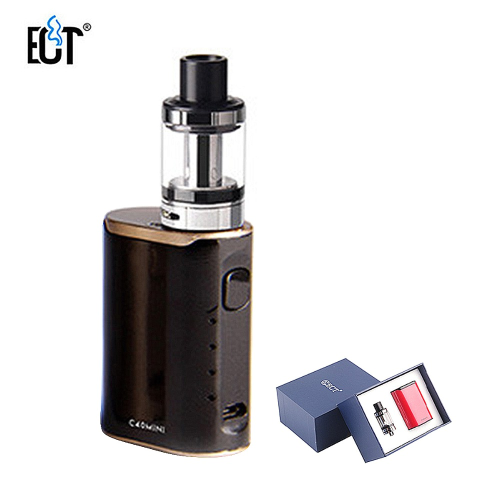 Original ECT C40 Mini Vape Kit 1800mah Battery Built-in 2.0ml Tank E-Cigarettes Vaporizer Airflow Control Top Refilling