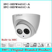 Origina POE IP Camera IPC-HDW4433C-A IPC-HDW4631C-A POE 4MP 6MP Network IP Camera Built-in MIC 30M IR Night Vision WDR Onvif 2.4