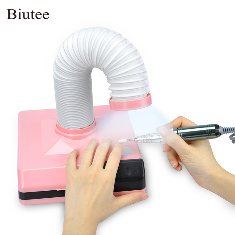 Biutee 60W Professional  Vacuum Cleaner For Nail Art Powerful Nail Dust Collector Machine For Manicure Nail Fan Dust SuctionBiutee 60W Professional  Vacuum Cleaner For Nail Art Powerful Nail Dust Collector Machine For Manicure Nail Fan Dust Suction