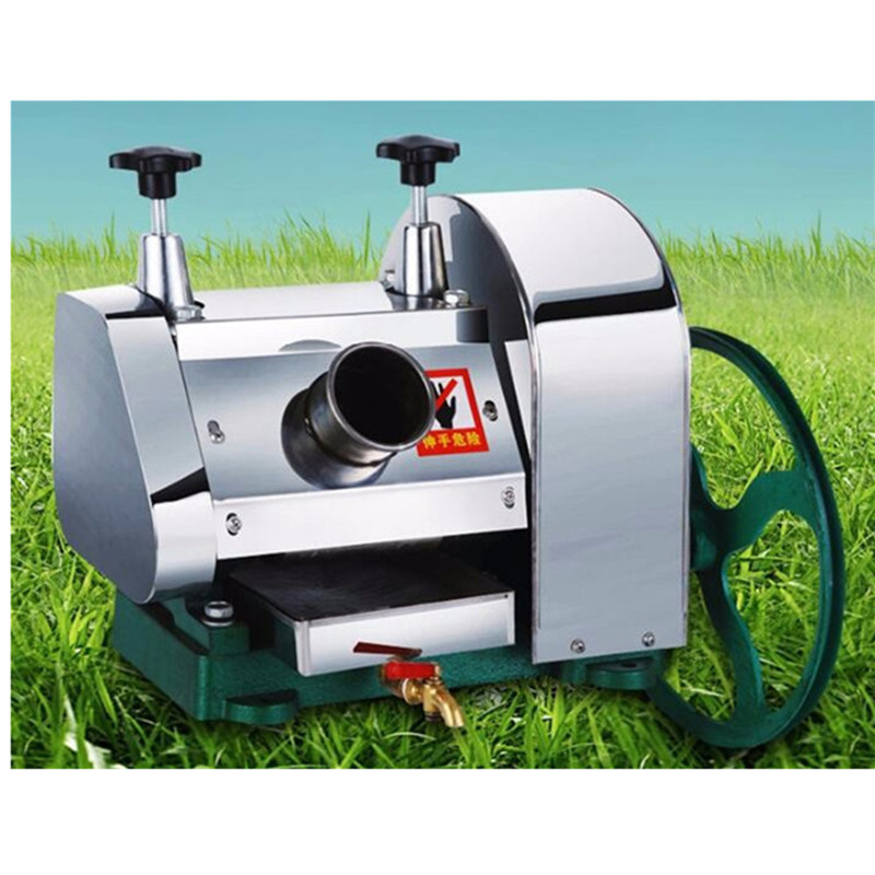 Sugarcane juice machine cane juicing machines stainless steel manual sugar cane presser juicer extractor
