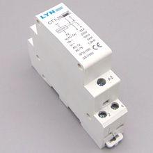 CT1-25 2P 25A AC контактор для дома/бытовой КОНТАКТНЫЙ модуль 2NO LYN