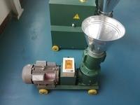 KL120B electric motor biomass wood sawdust pellet mill