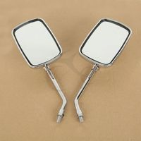 Motorcycle accessories Side Rear Mirrors For YAMAHA XV1100 XVS1300 DS400 XVS400 XV1900 1700 Free Shipping! 1