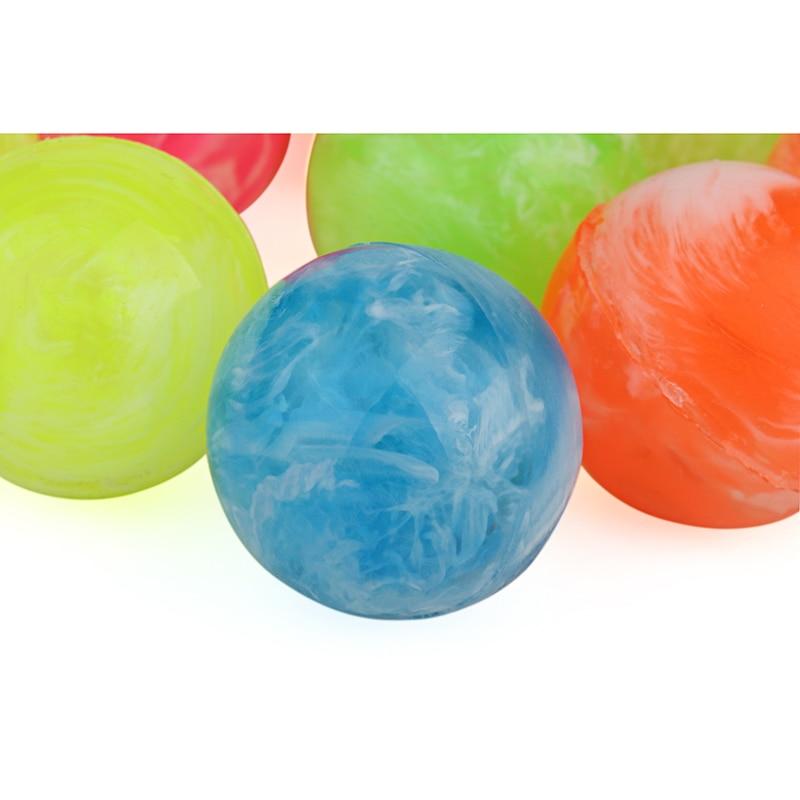 10pcs Lot 55mm Big Size Rubber Ball Bouncing Ball High