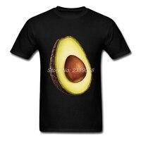 Nouveau Design Mens t-shirt Simple Style 3D Fruits Imprimer Manches Courtes Avocat Hommes t shirt 3XL