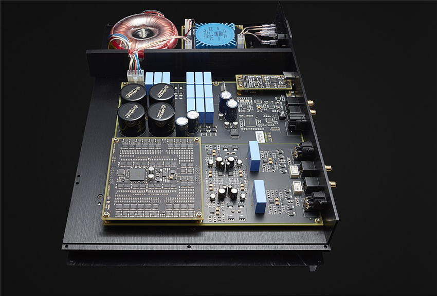 R-067 QUEENWAY HiFi Audio R2R type DAC Lossless player amplifier Support: USB, RCA, BNG, AES, Optical, I2S HDMI, DSD R2R