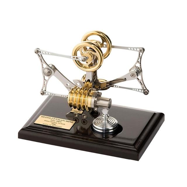 HB10 Deluxe Flyer Modelo Do Motor Stirling de Aprendizagem Educacional Toy Presente Para Crianças Miúdo Brinquedos Ciência