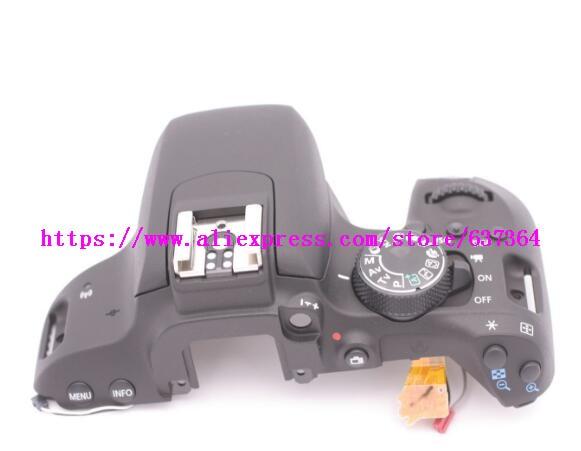95% nouveau couvercle supérieur avec cadran de mode et bouton interrupteur pièces pour Canon pour EOS 800D rebelle T7i