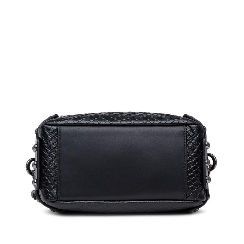 2019 Hot-Zooler naine kott tõeline nahast kotid kuum disainer rist - Käekotid - Foto 6