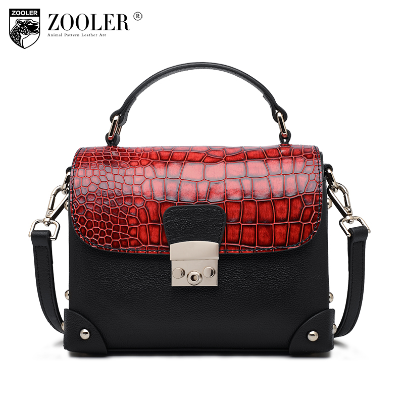 Stock coming New bags handbags type women famous brands 2017 style ladies bag Genuine leather Bags ZOOLER tote bags#Z123 concept driven 2sc0435t 2sc0435t2a0 17 new stock
