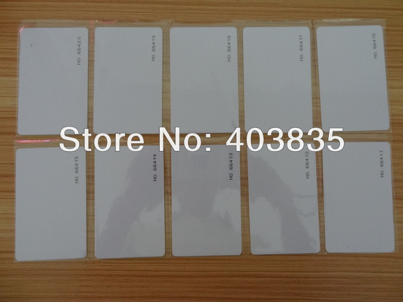 2 -12 Meter Long Range UHF Card UHF RFID Cards With Frequency: 860~960MHz Reading