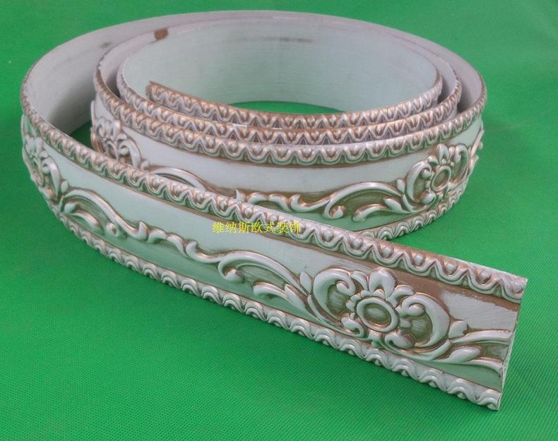 New European Decorative Flexible Ceiling Crown Molding Pvc Trim Stip Curved  Lines Of Furniture 3.6 Cm X 300cm In Furniture Accessories From Furniture  On ...